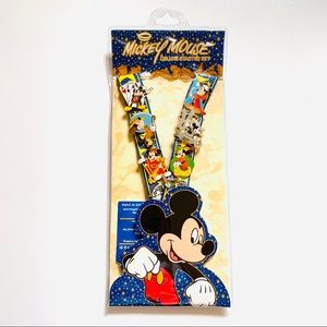 Mickey Mouse Deluxe Starter Kit Lanyard Pins
